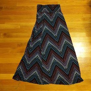 American Rag multicolor maxi skirt